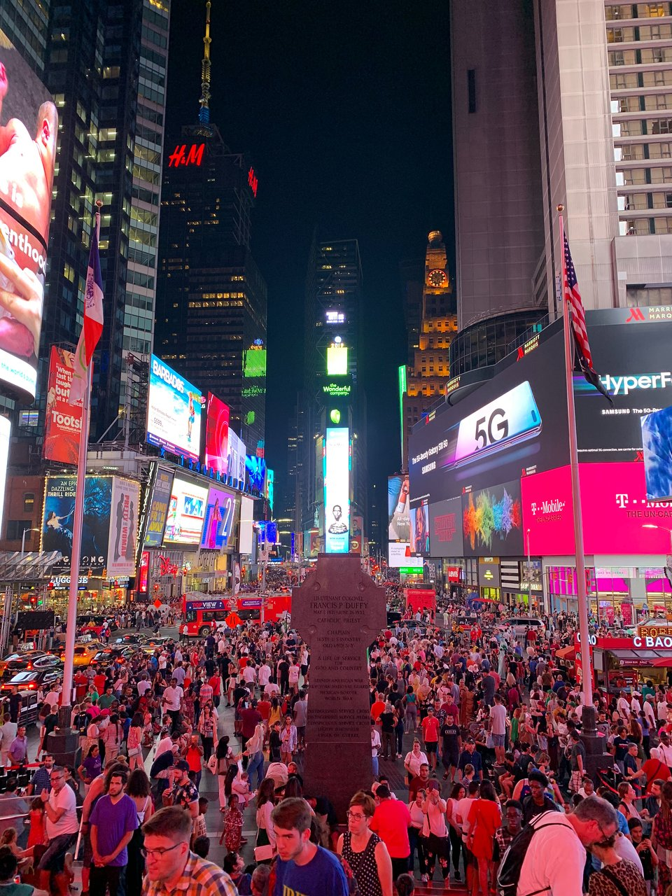 Duffy Square New York City 2020 All