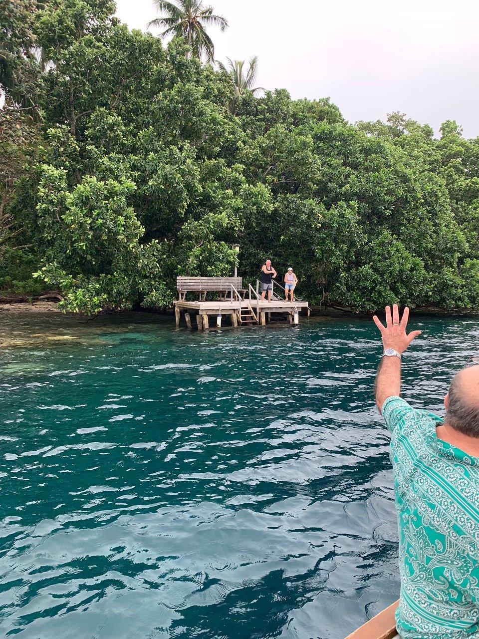 Περιοχές γνωριμιών στο νησί του Ειρηνικού