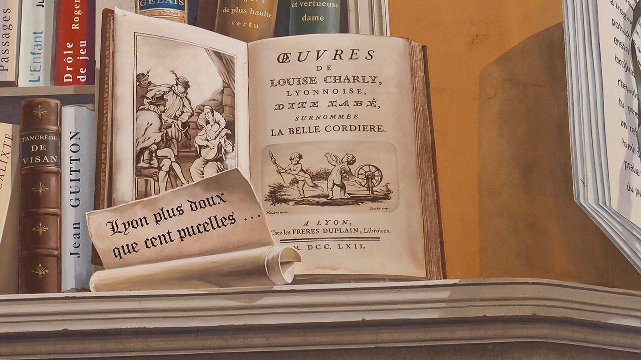 Bibliothèque Ste Foy Les Lyon fresque la bibliotheque de la cite (lyon) - 2020 all you