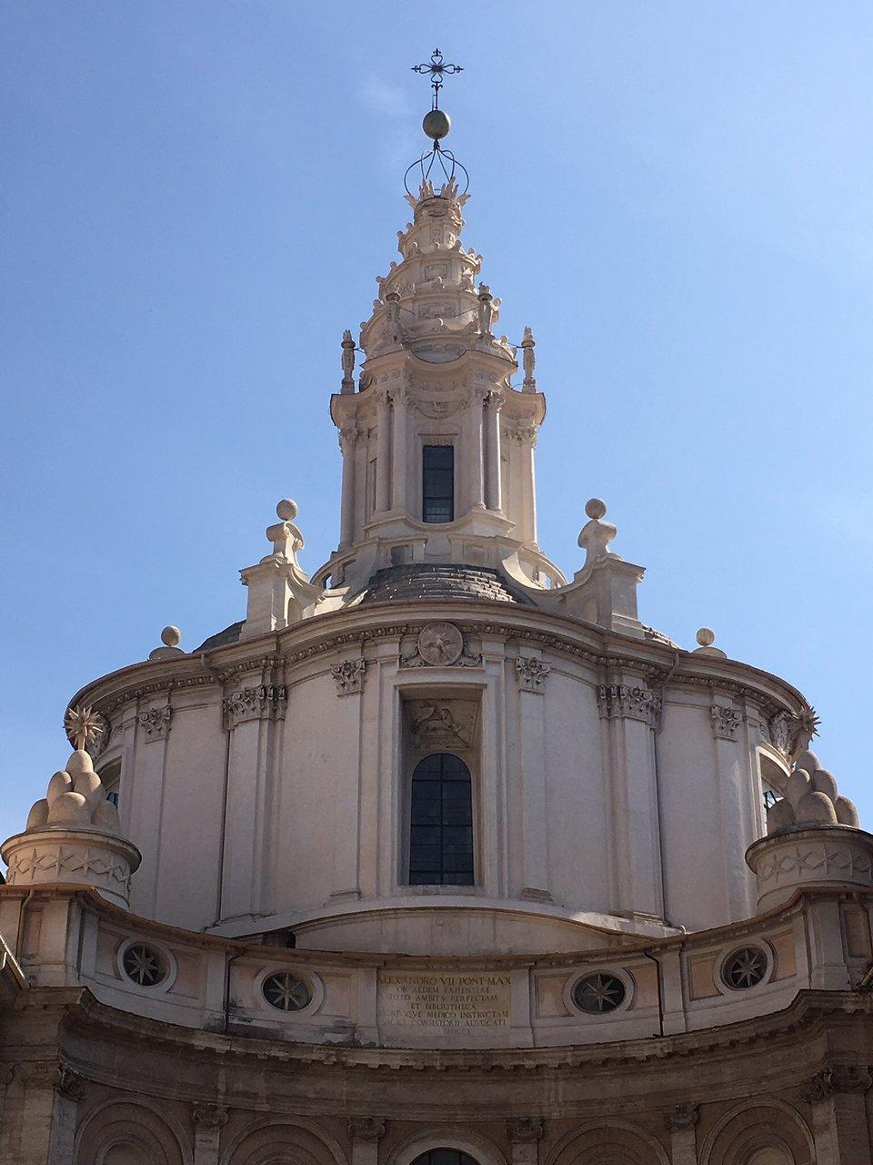 Chiesa Di Sant Ivo Alla Sapienza Rome Tripadvisor