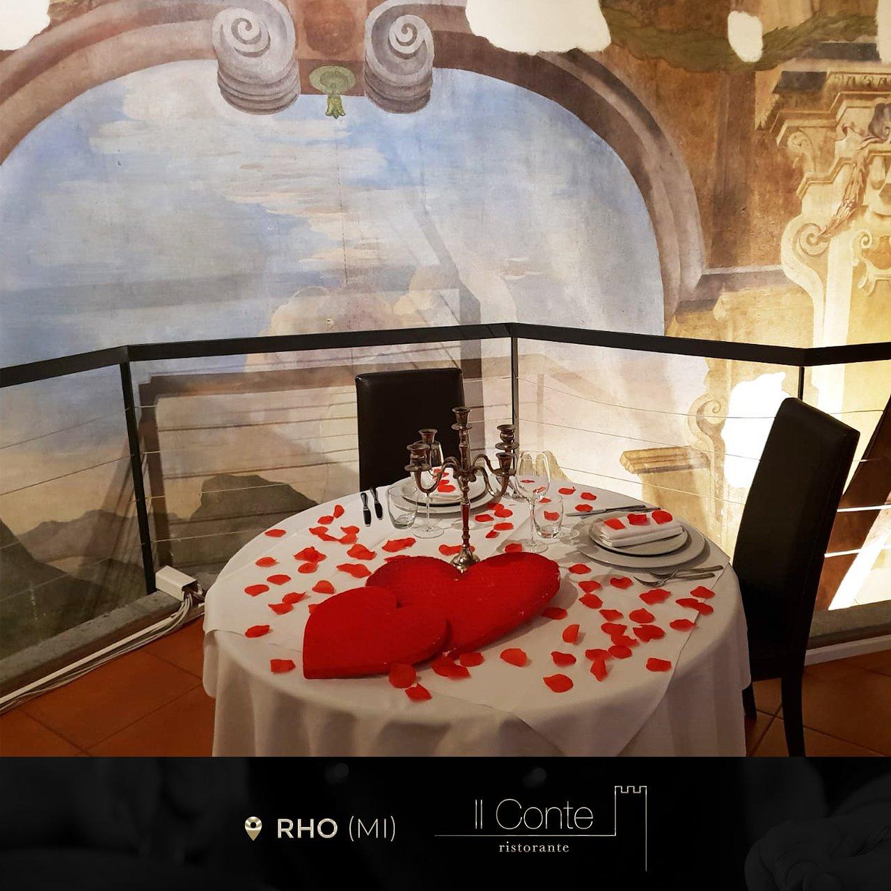 San Valentino - Picture of Ristorante Il Conte, Rho - Tripadvisor