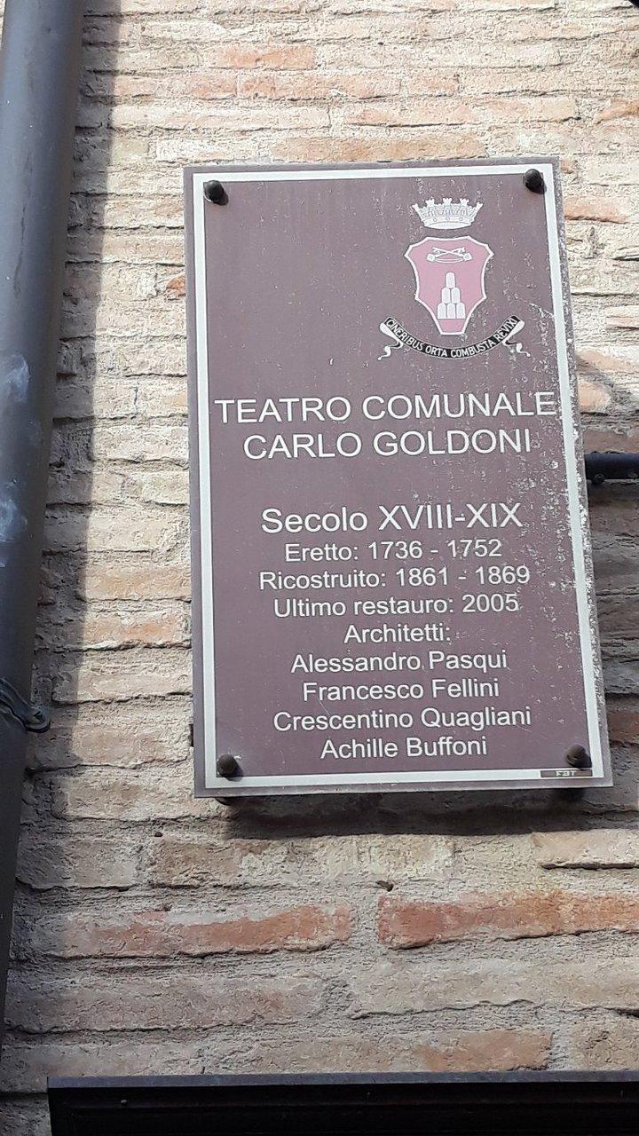 """Alessandro Bucci Architetti teatro comunale """"carlo goldoni"""" (corinaldo) - 2020 all you"""