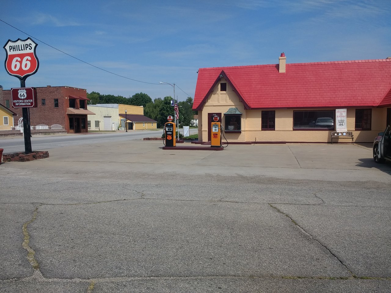 route 66 visitor's center (baxter springs) - 2019 all you