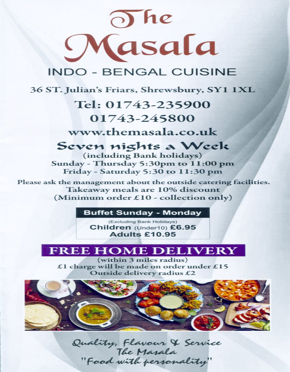 The 10 Best Indian Restaurants In Shrewsbury Updated