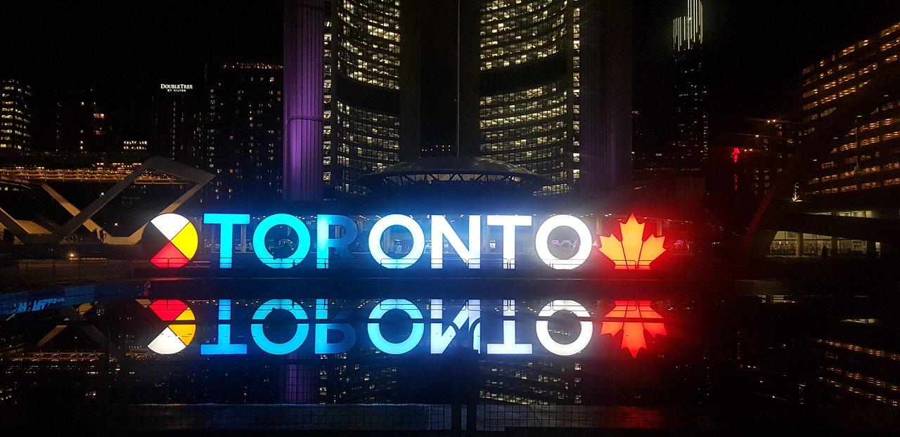 Připojte se v Torontu