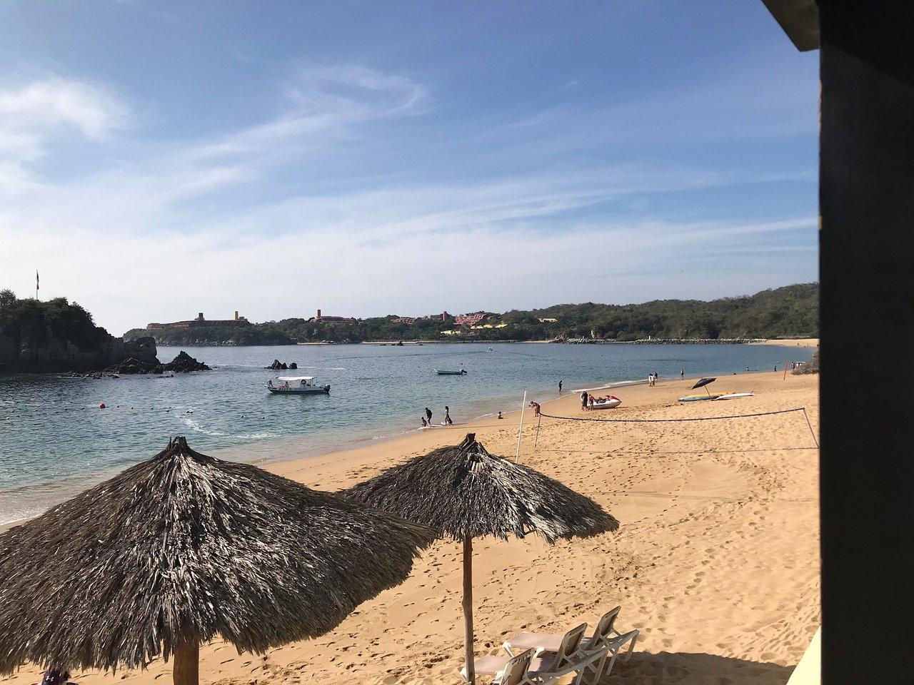 Bahía Tangolunda, de las bahías en Oaxaca que debes conocer.