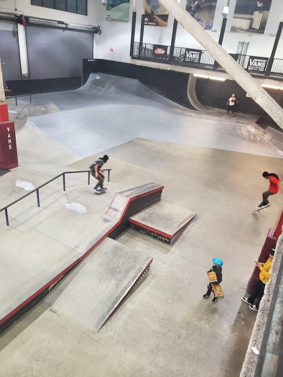 vans skatepark in orange county