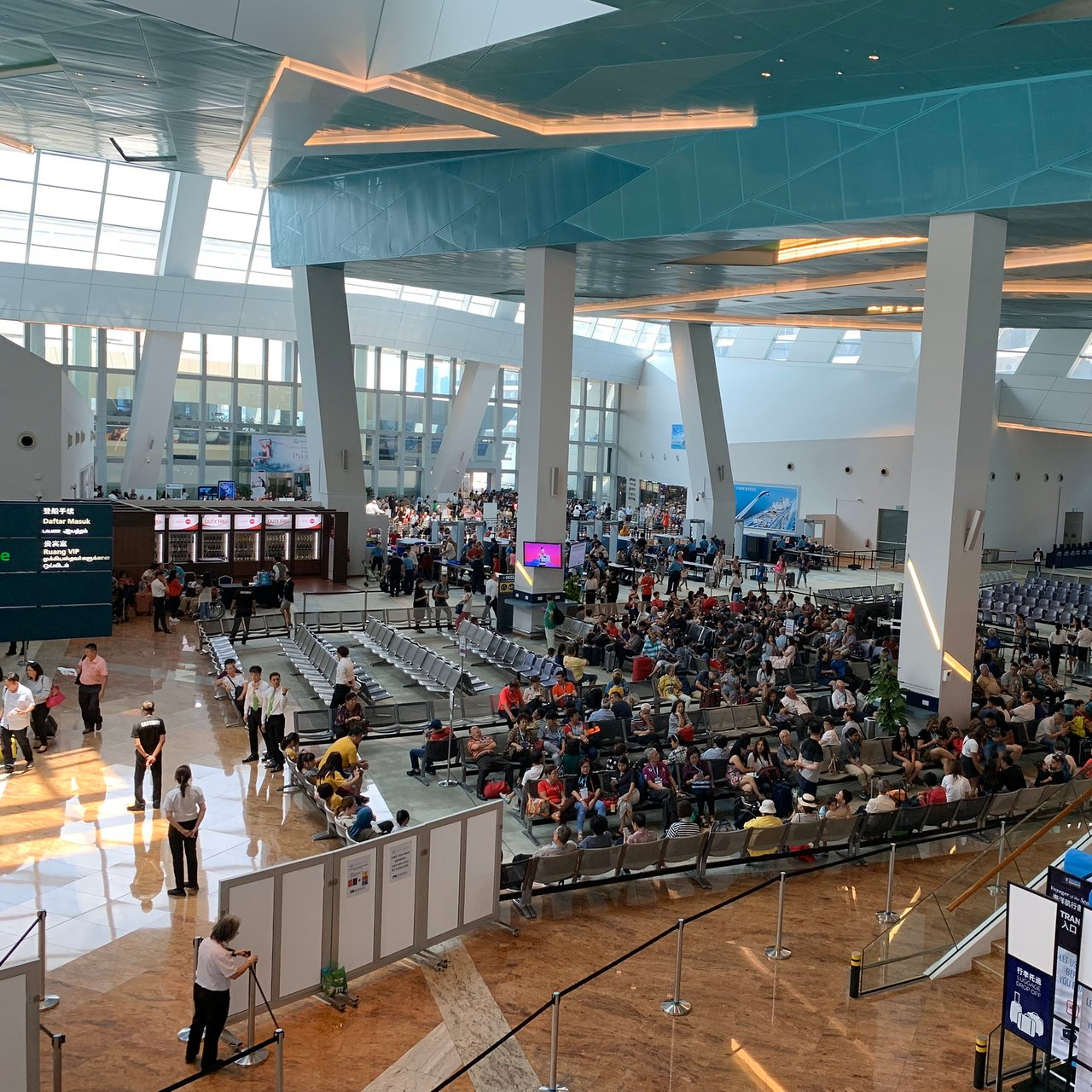 Marina Bay Cruise Centre (Singapur) opinie Tripadvisor