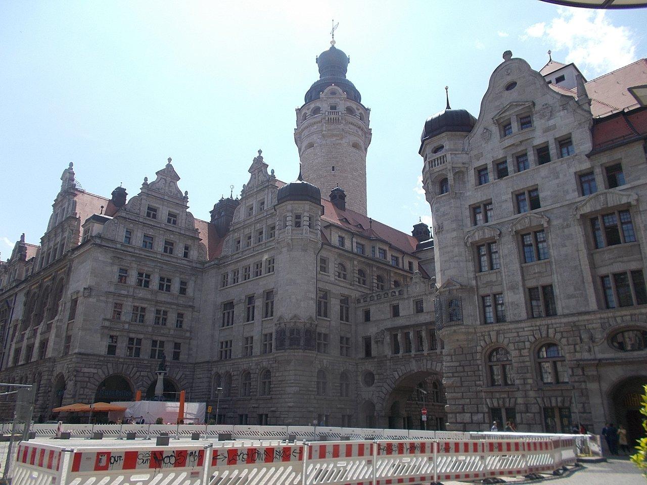 New Town Hall Neues Rathaus Leipzig Tripadvisor