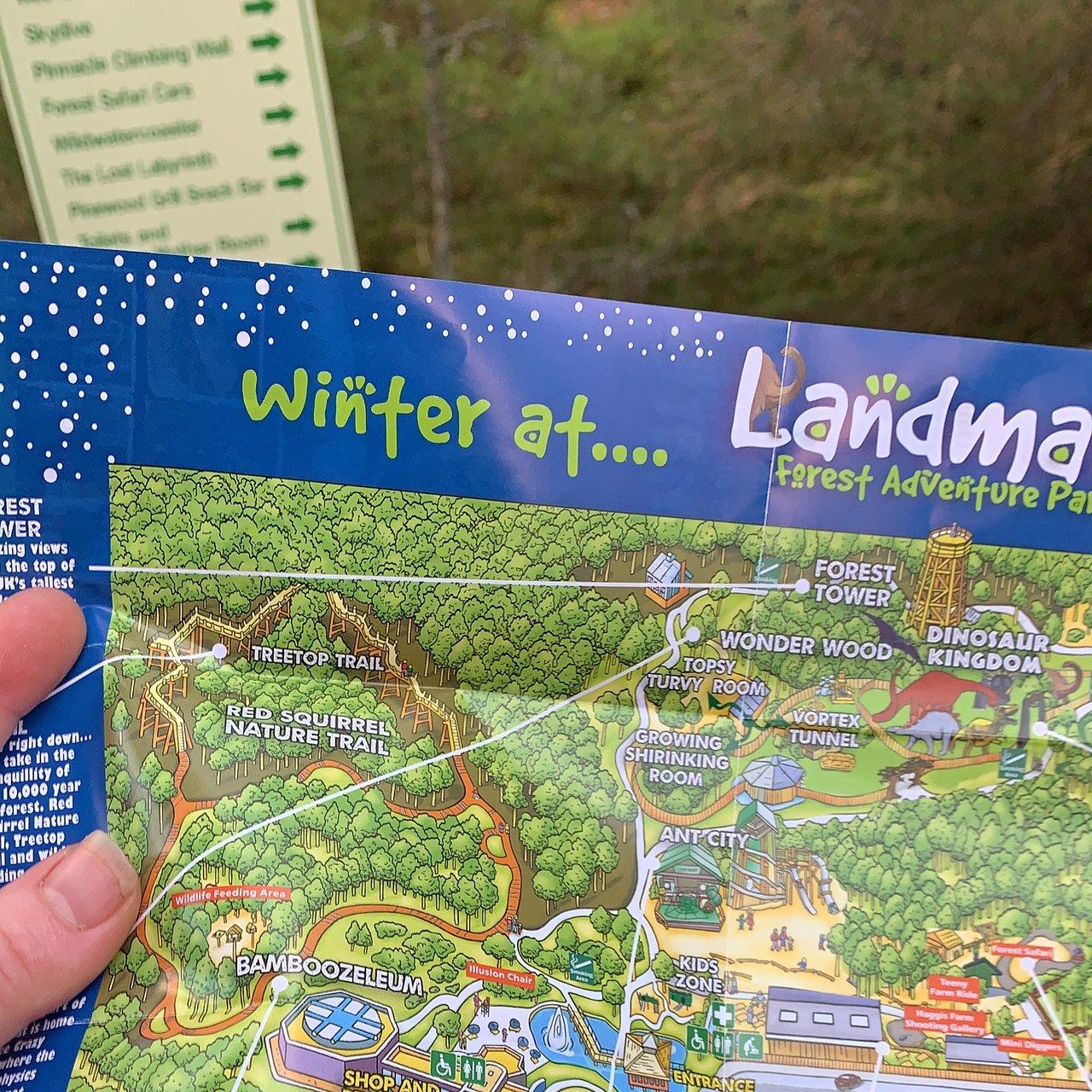 The Runaway Timber Train At Landmark Forest Adventure Park Picture Of Landmark Forest Adventure Park Carrbridge Tripadvisor