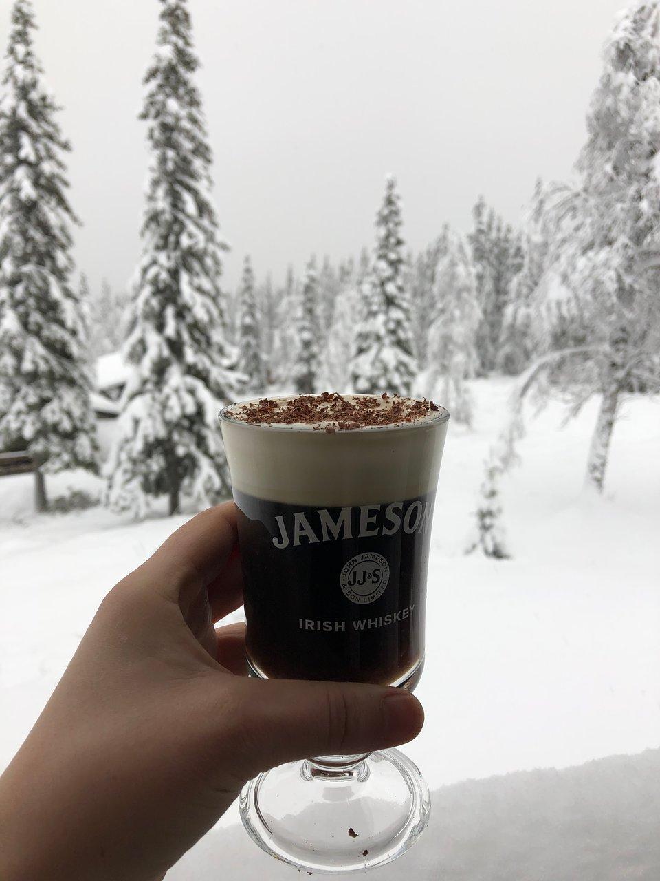 Irish Coffee Picture Of Fjallkallans Kok Funasdalen Tripadvisor
