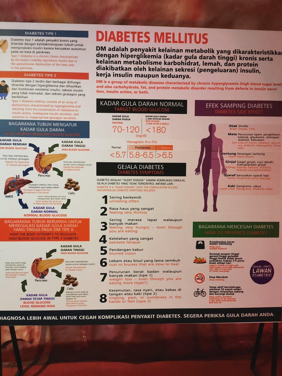 diabetes gejala akutan