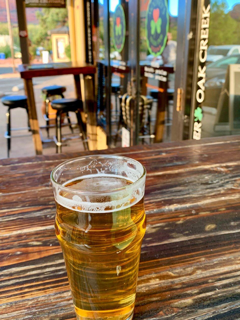 Northern Arizona University-Irish Pub Glass