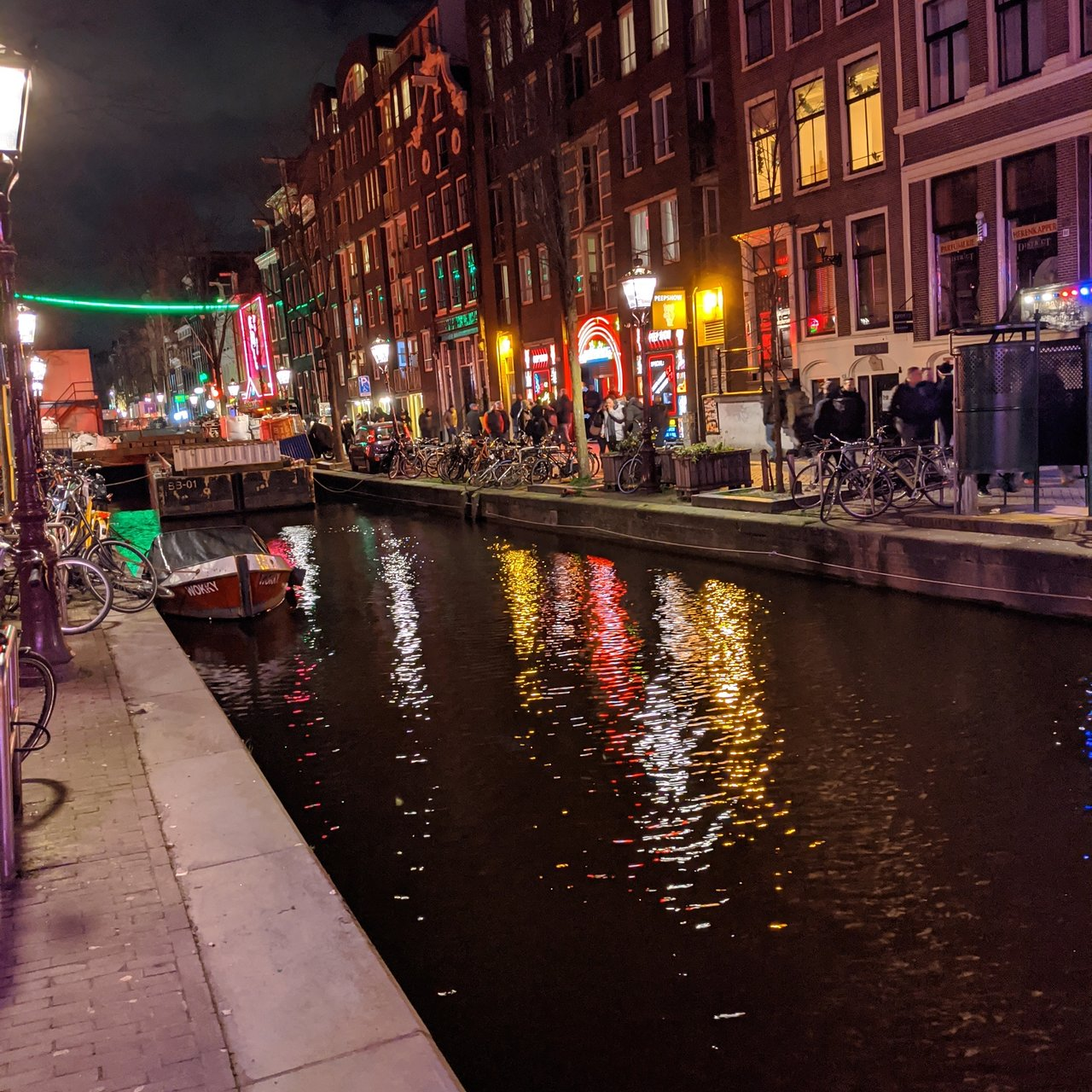 red light district amsterdam street name