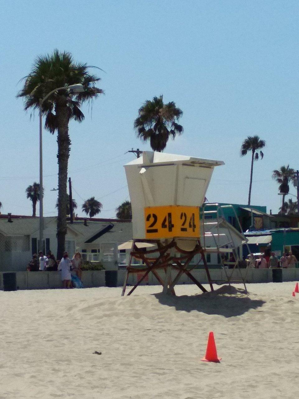 Mission Beach Boardwalk San Go