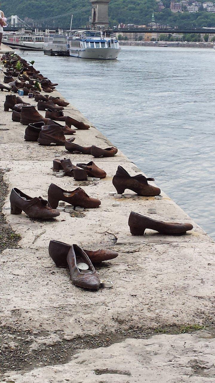Memorial Sapatos às Margens do Danúbio (Budapeste) Tripadvisor