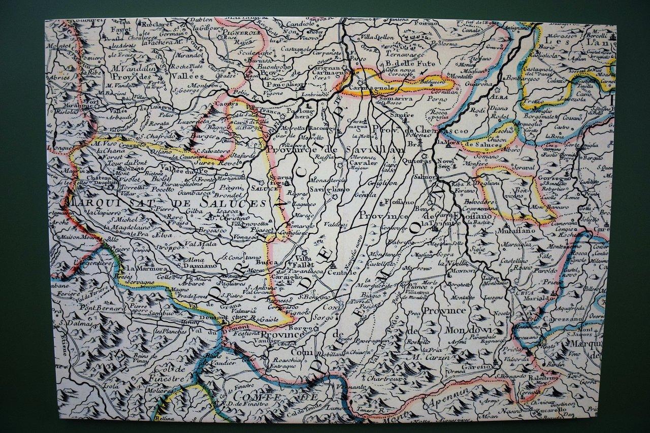 Cartina Hong Kong.Cartina Del Marchesato Di Saluzzo Picture Of Castiglia Di Saluzzo Tripadvisor
