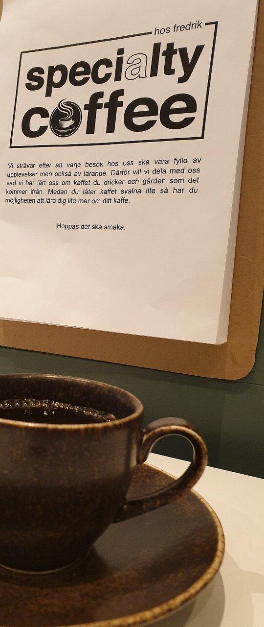 Personligt café & kaffe med det lilla extra
