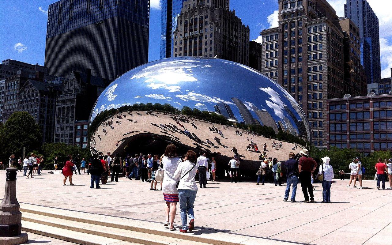 Обои skyline, чикаго, сша, one prudential plaza, chicago. Города foto 13