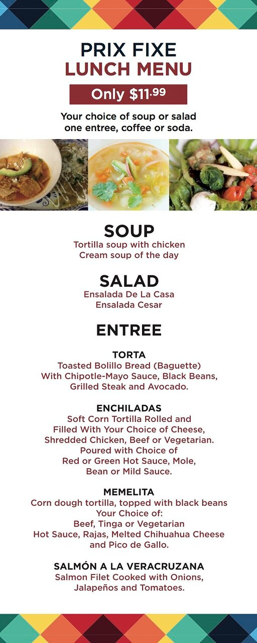 If having great food wasn't enough of an incentive, here's more!  Join us Tuesday for the start of our pre fixe menu.