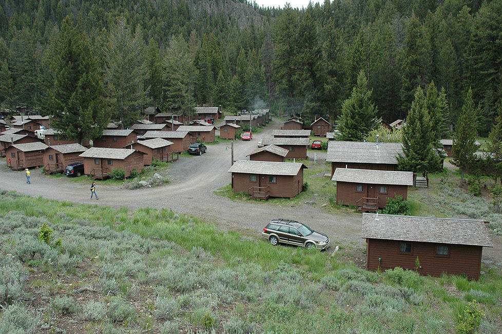 Roosevelt Lodge Cabins