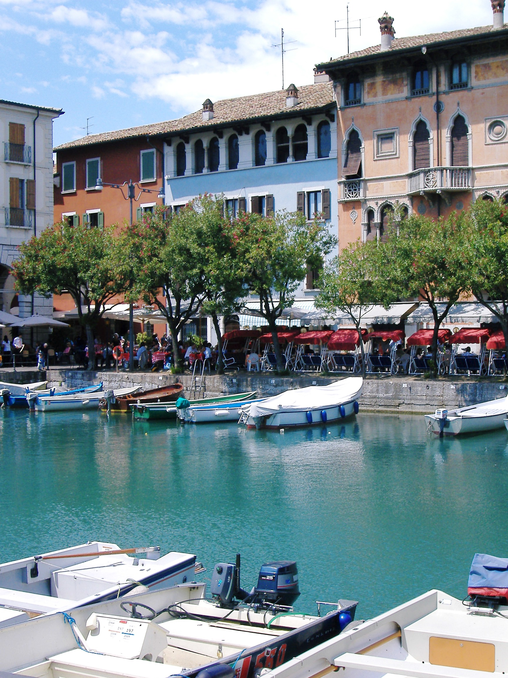 Old Harbour, Desenzano, Lake garda