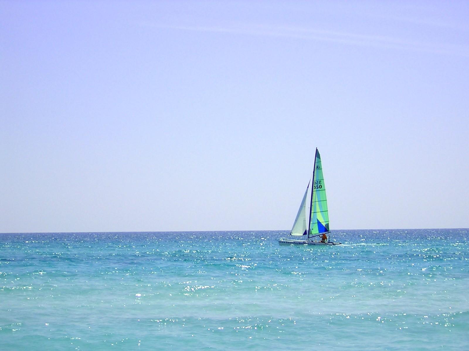 Sailing on Siesta Key