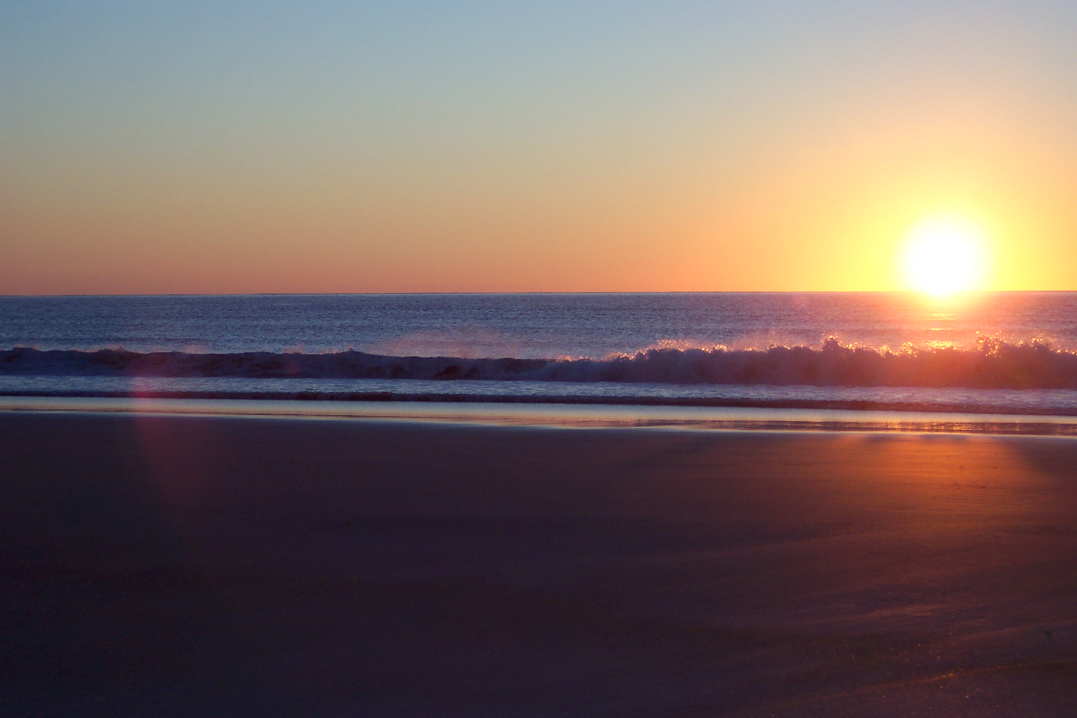 Sunrise on Ogunquit Beach Sept 13 2007