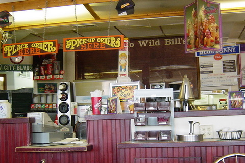 Wild Bills Hamburgers & Ice Cream - remodeling open march