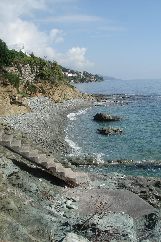 Beach at L'Alivi