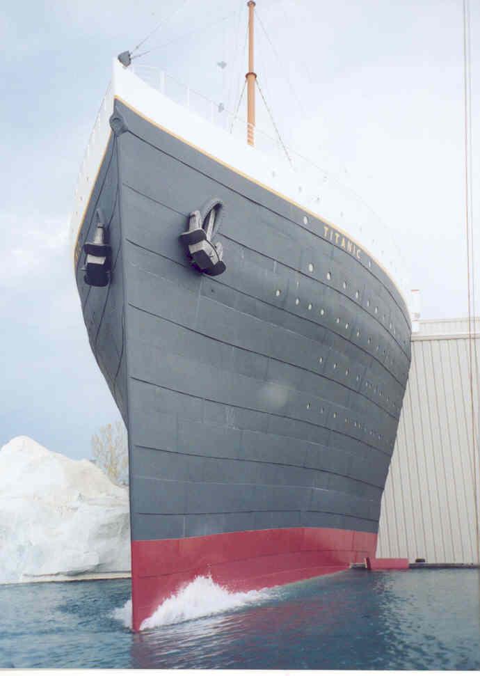 Titanic Actual Recreation