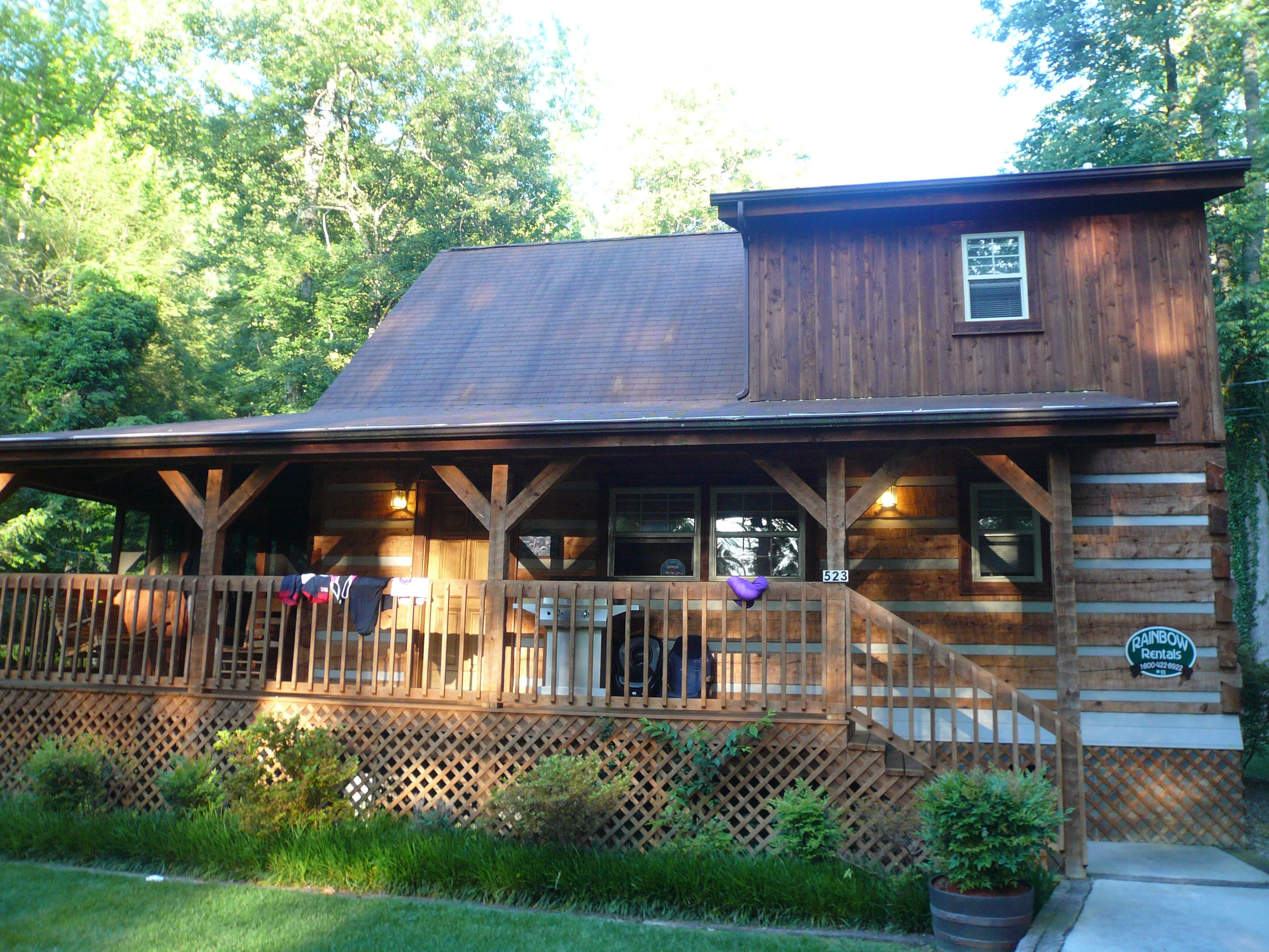 Rainbow Log Cabin Rentals Gatlinburg Tn Campground