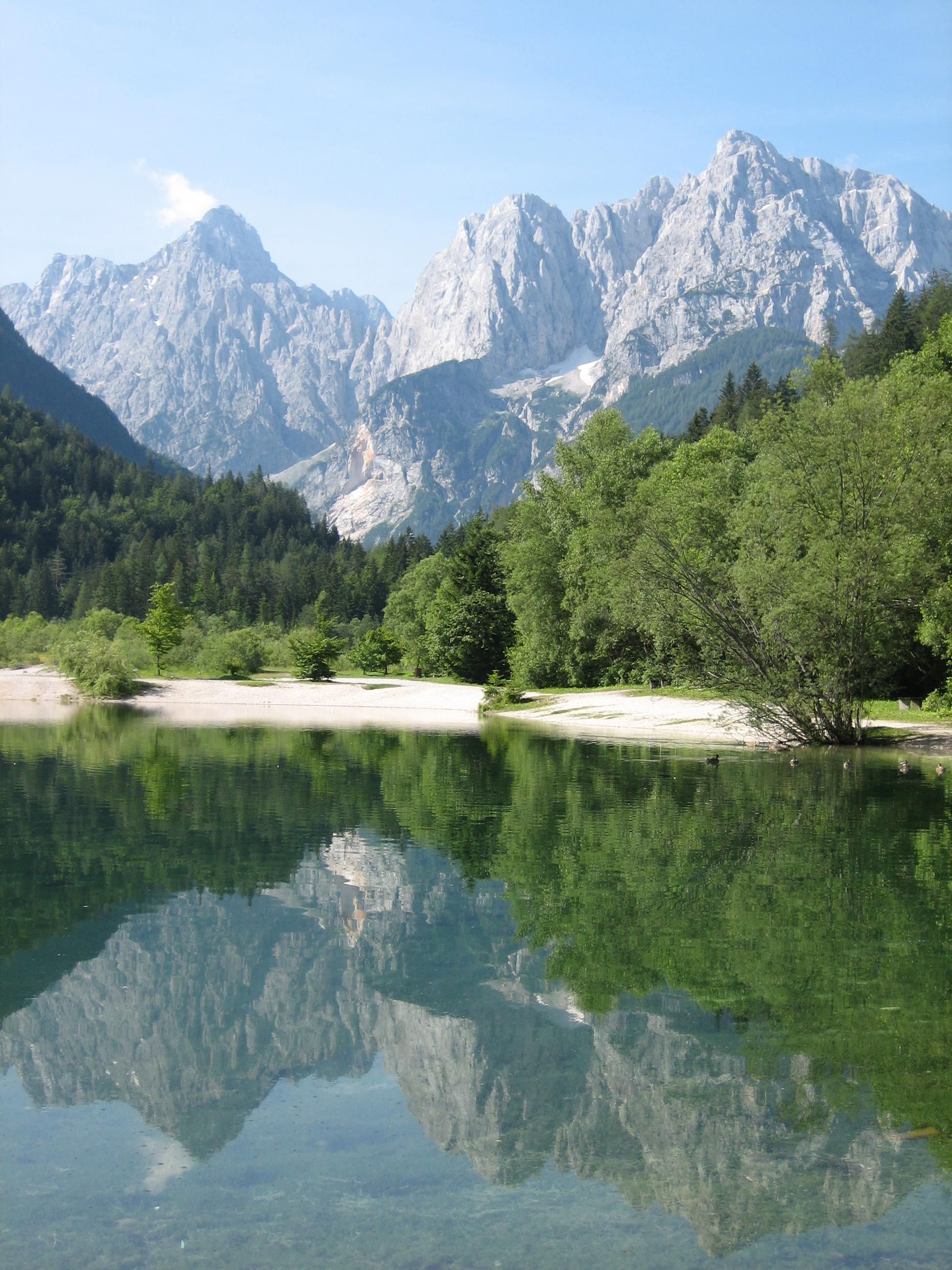 Kranjska Gora with Jasna Lake