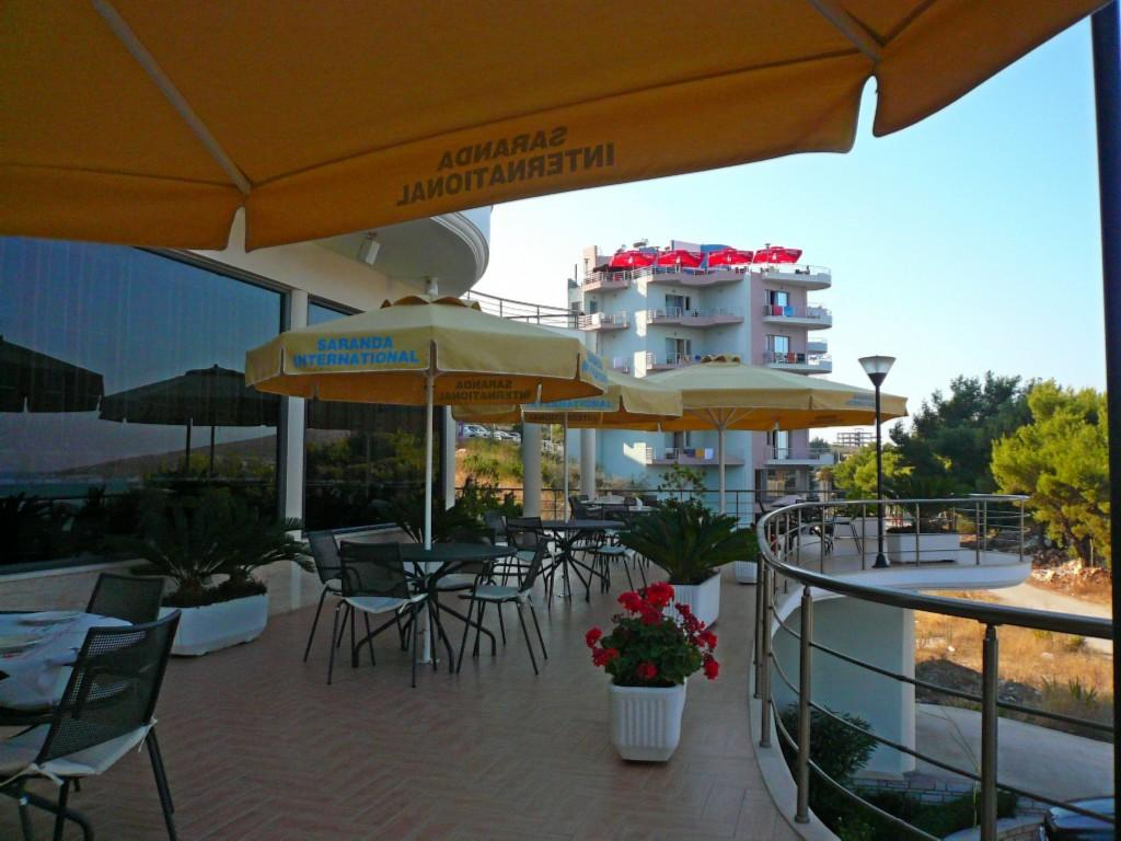 Hotel international saranda arvostelut sek for Breakfast terrace