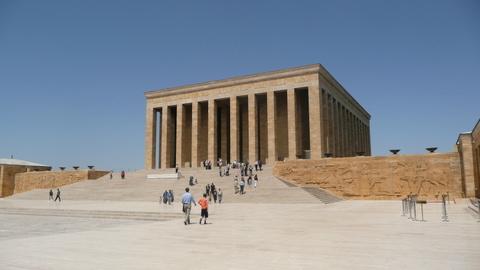 Le mausolée Anitkabir