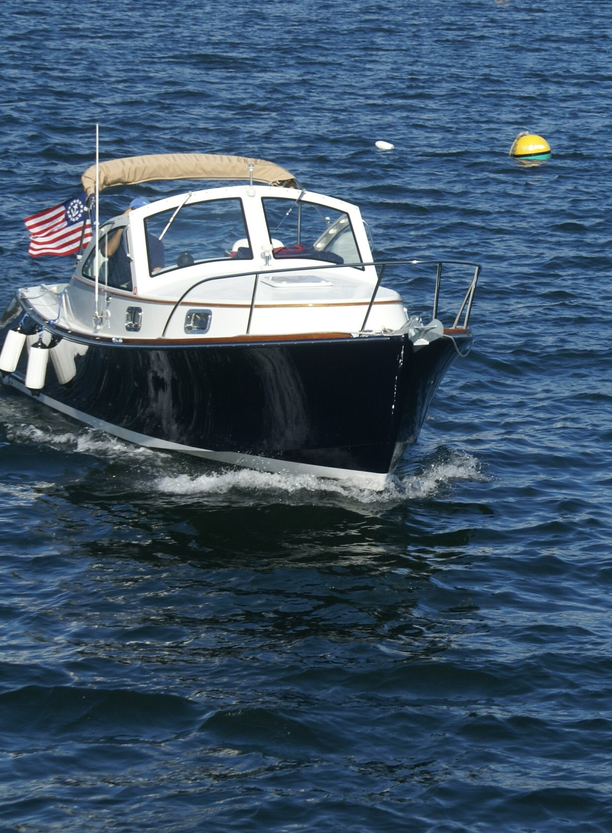 boat in boothbay