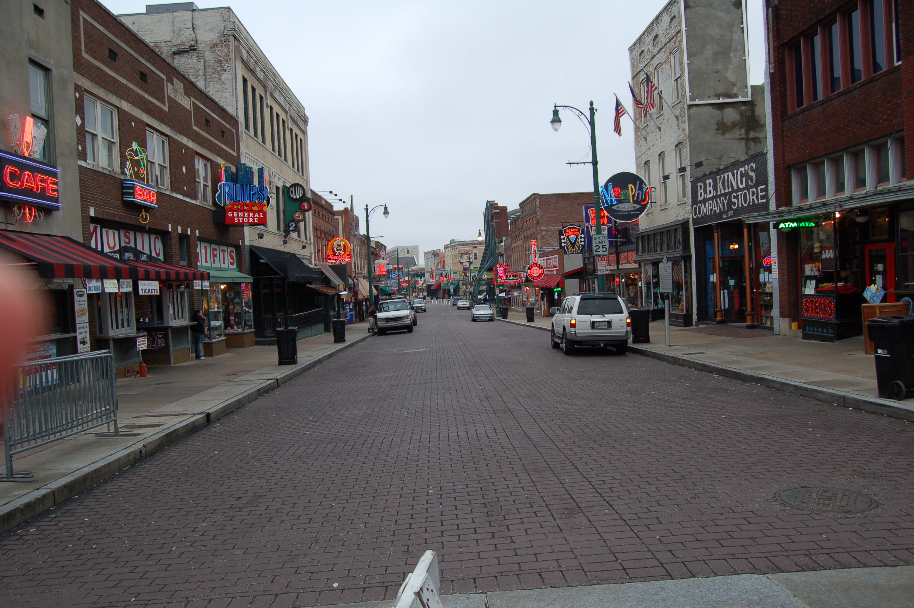 Beale St. overview