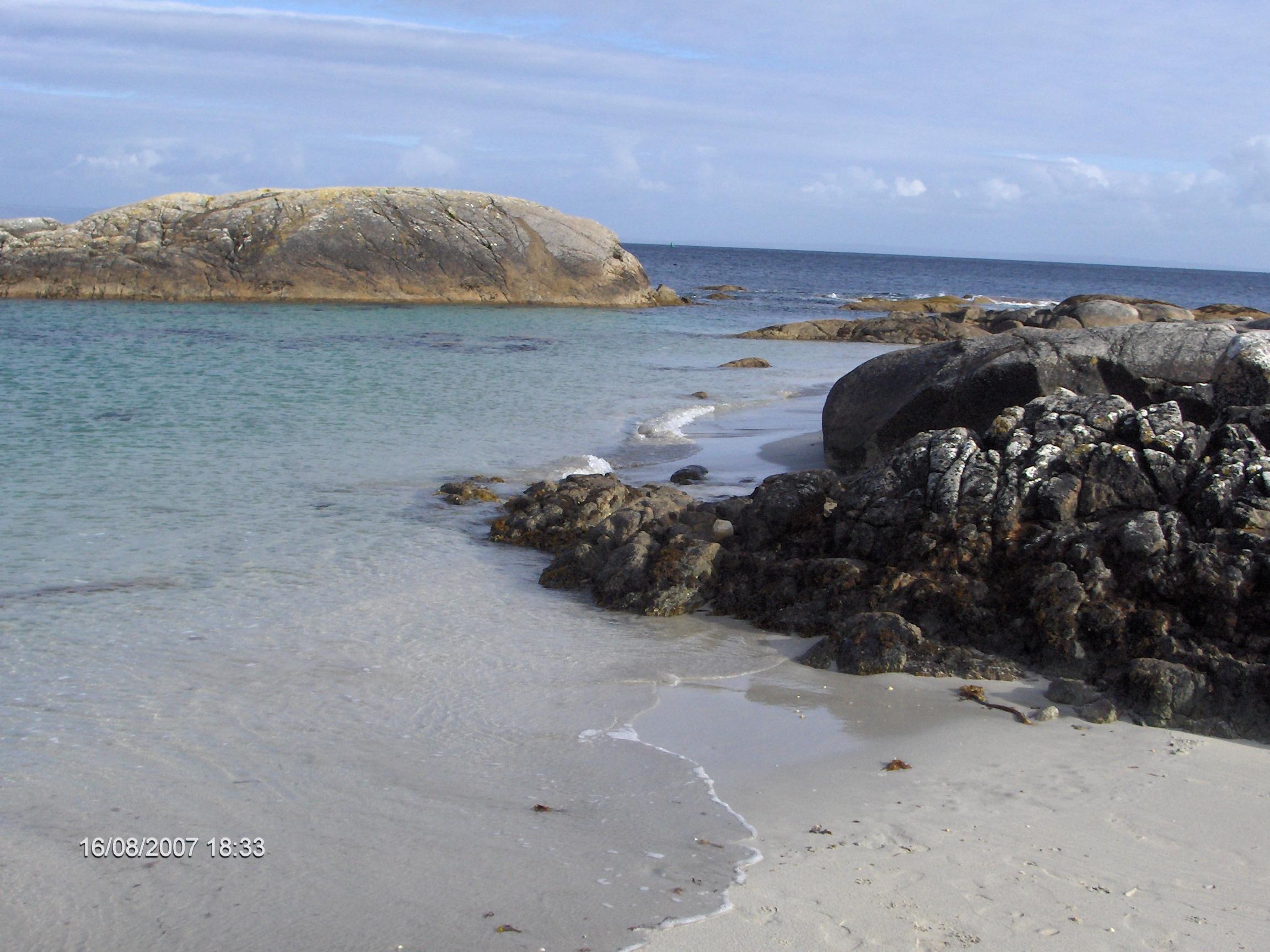 beach in Ceathru Rua (carraroe) Connemara