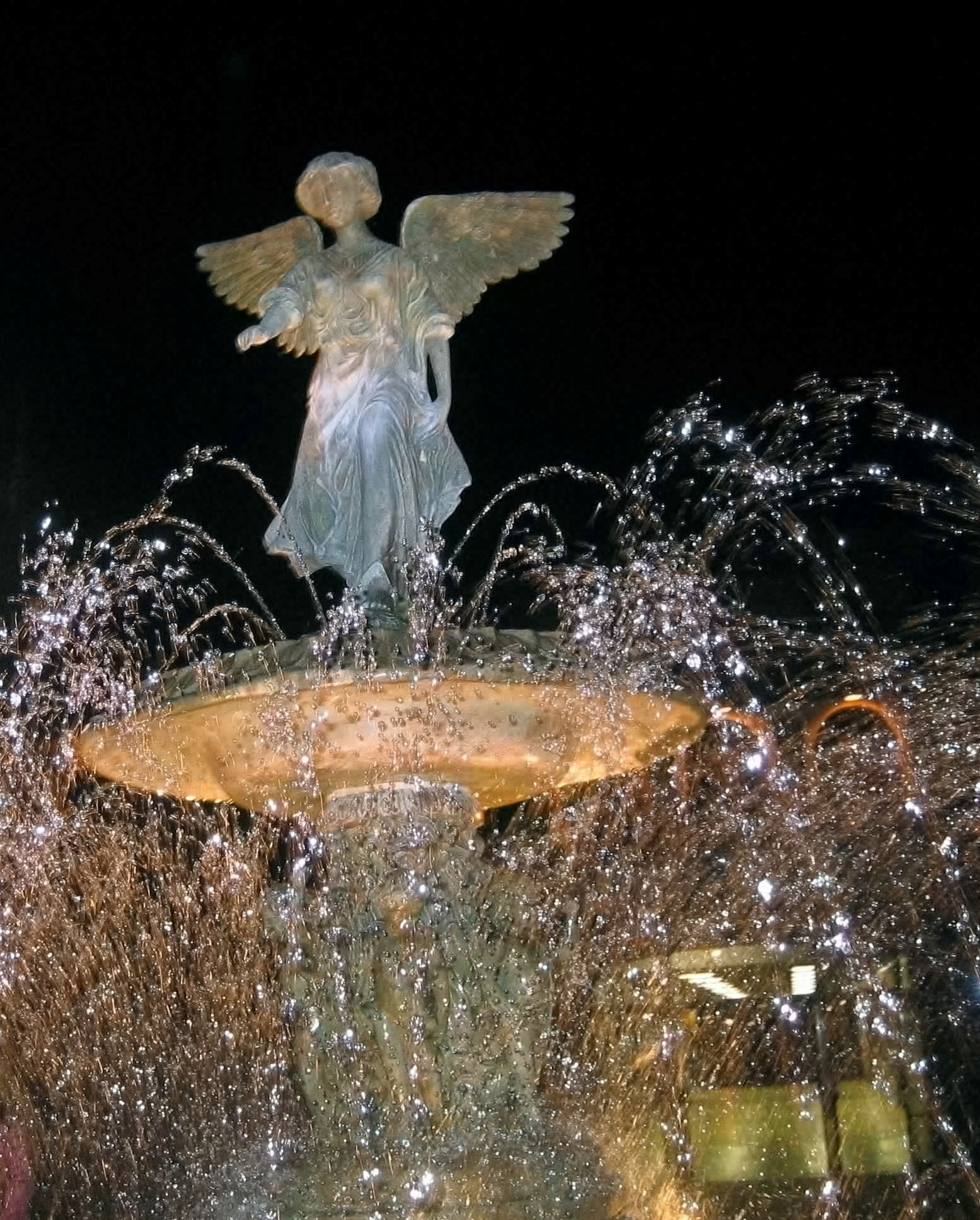 Fountain at Night