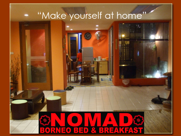 ‪Nomad Borneo Bed & Breakfast‬
