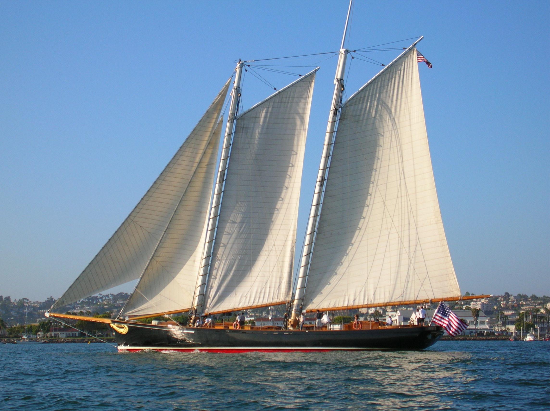 San Diego Bay Sunset Sailing