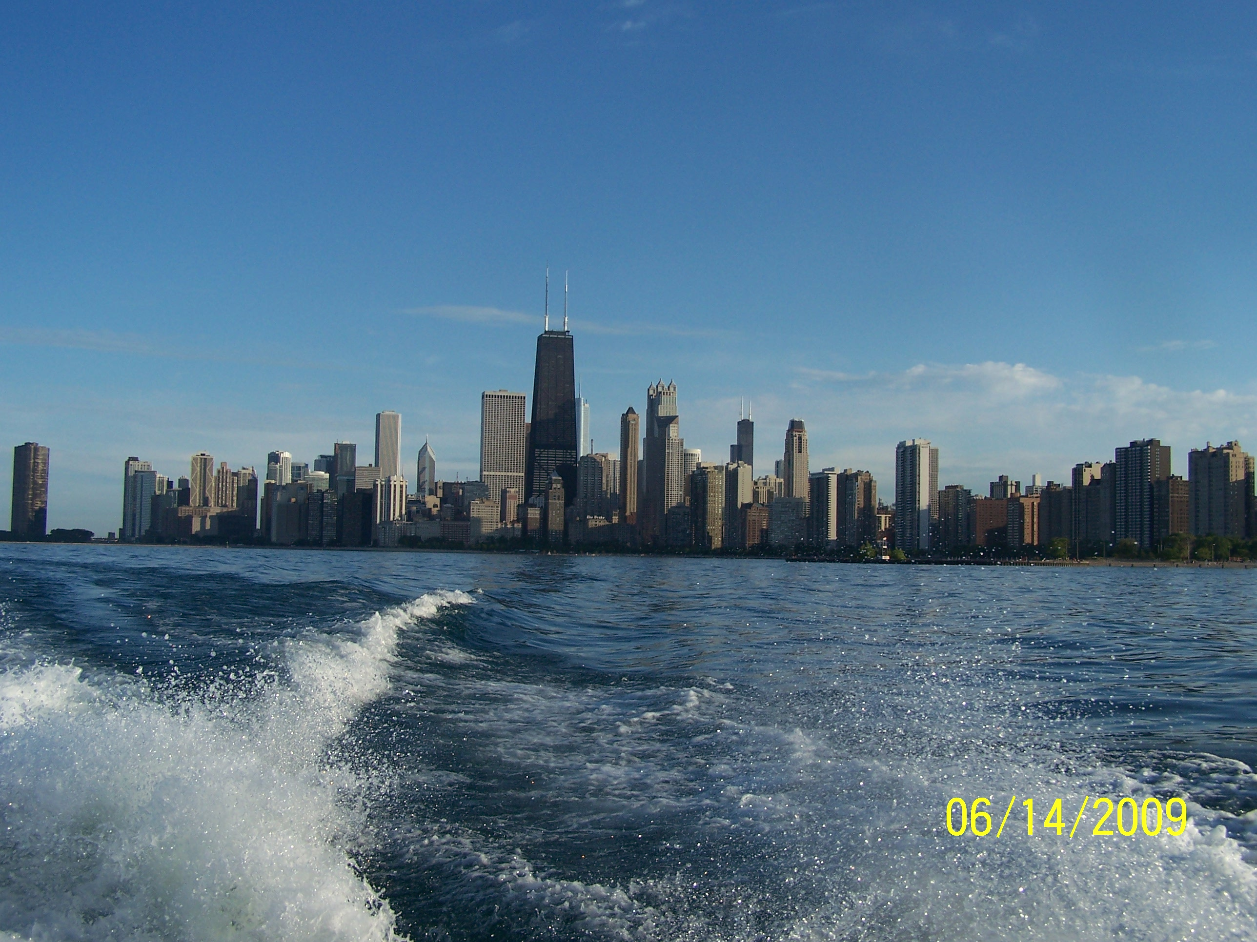 View from Lake Michigan