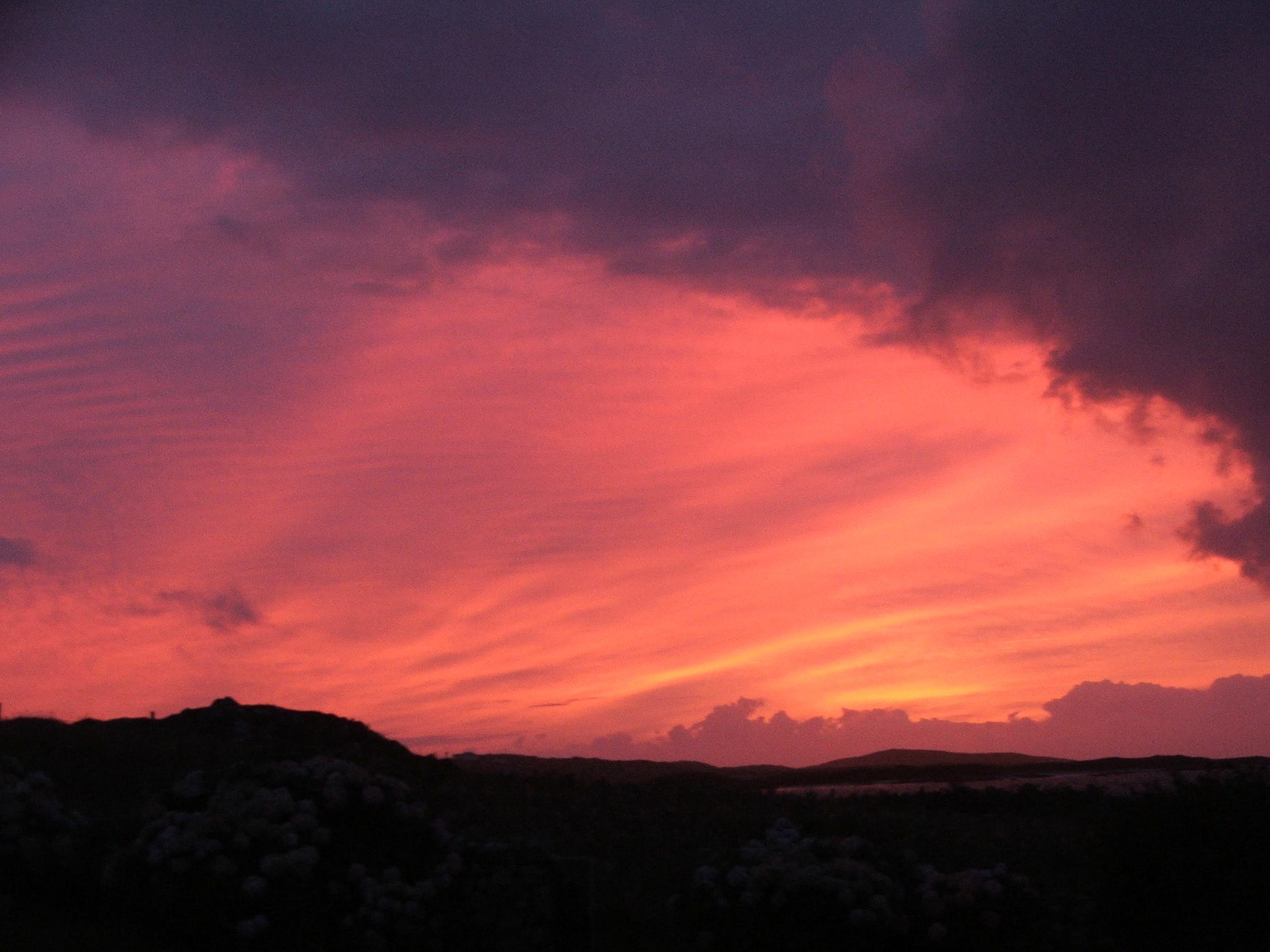 Sunset at Mannin Bay