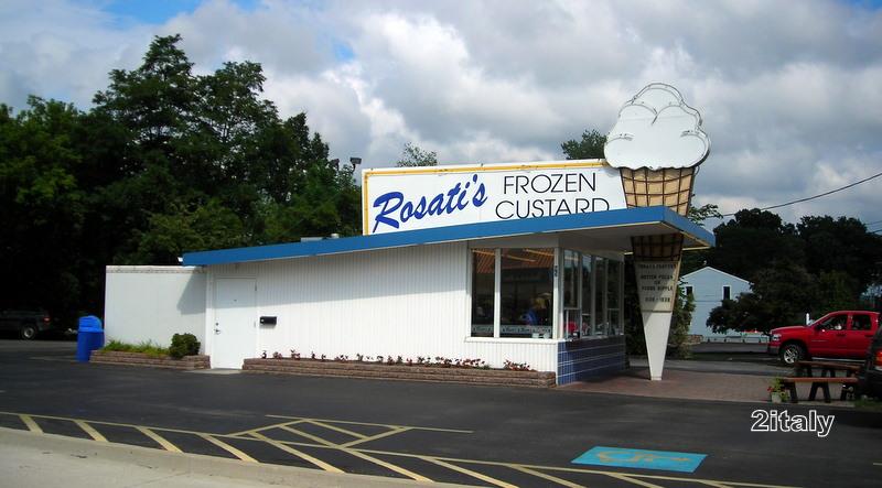 Rosati S Frozen Custard