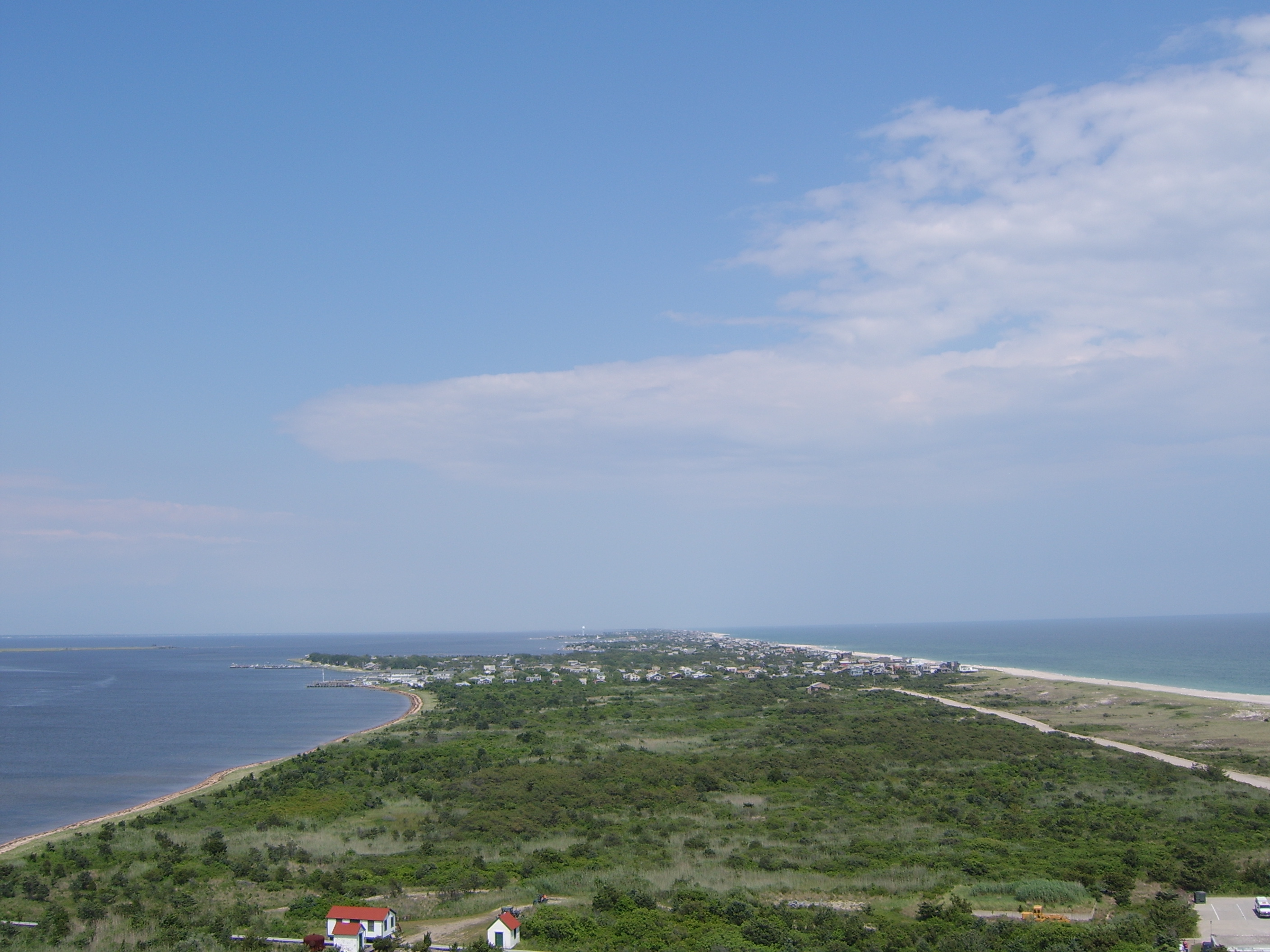 View from the Fire Island lighthouse by www.discoverlongisland.com