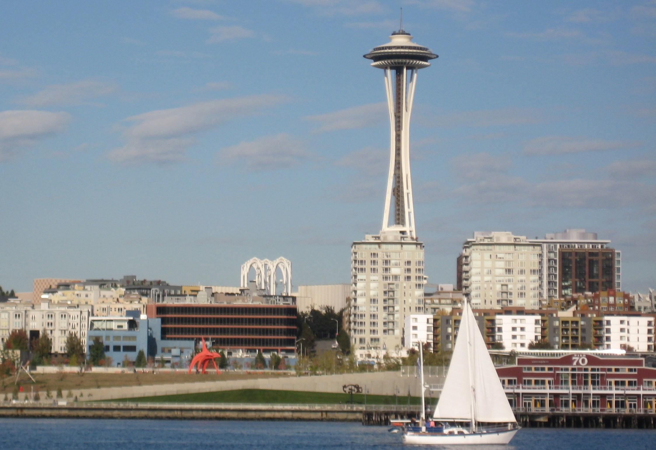Seattle -view from the Puget Sound
