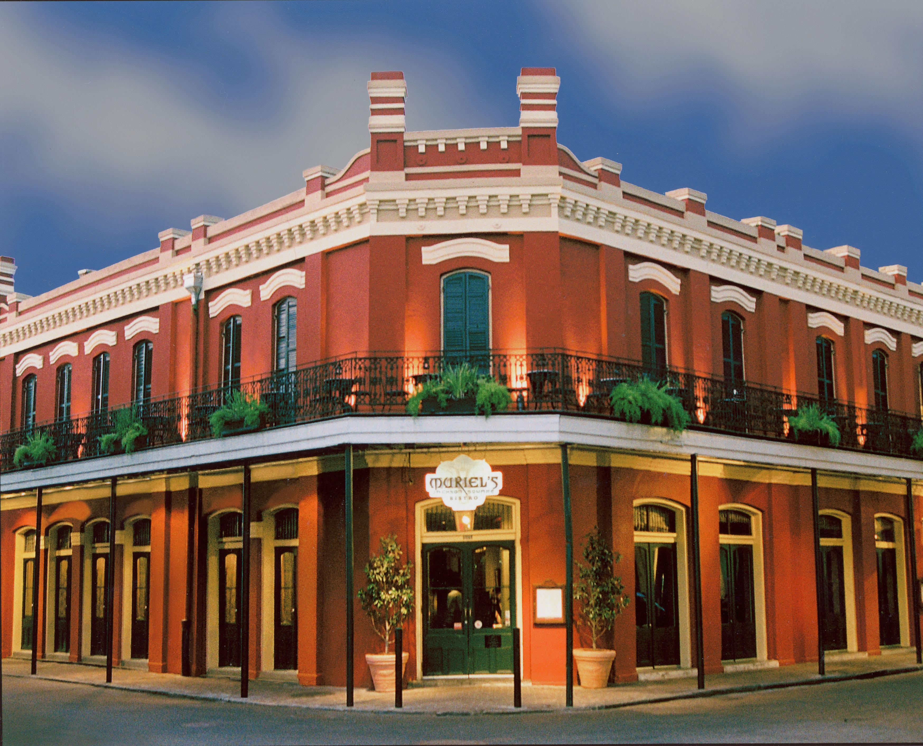 Muriel's historic building is located on Jackson Square.