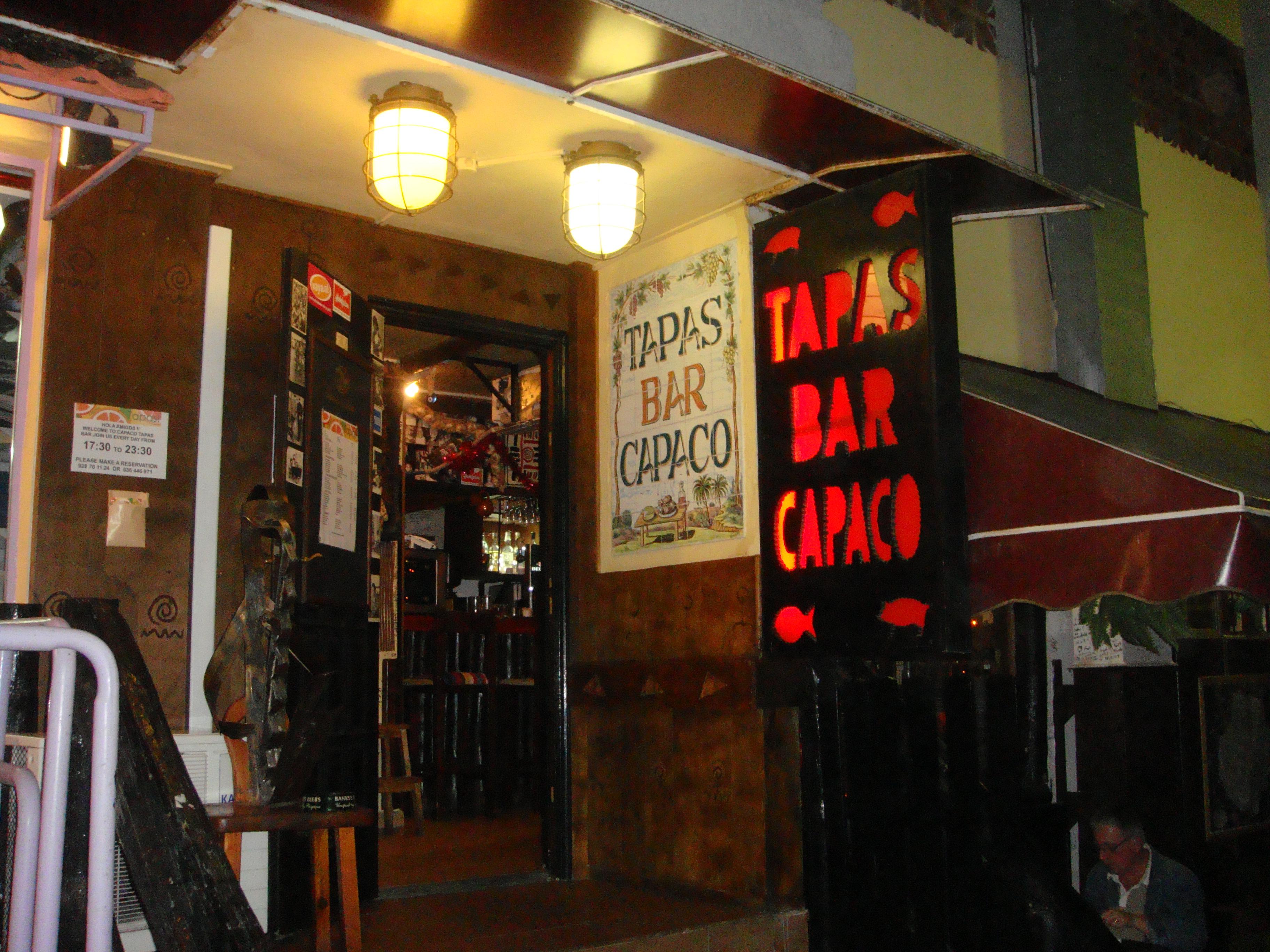 Tapas Bar Capaco