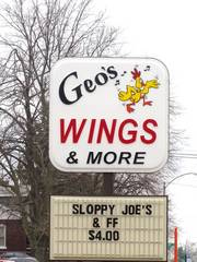 Geo's Wings & More