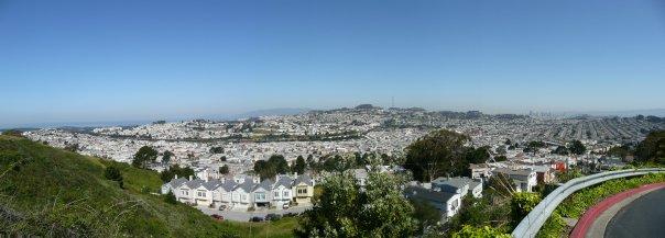 Daly City 回望San Francisco